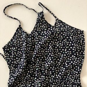 Heart-Print Halter Dress
